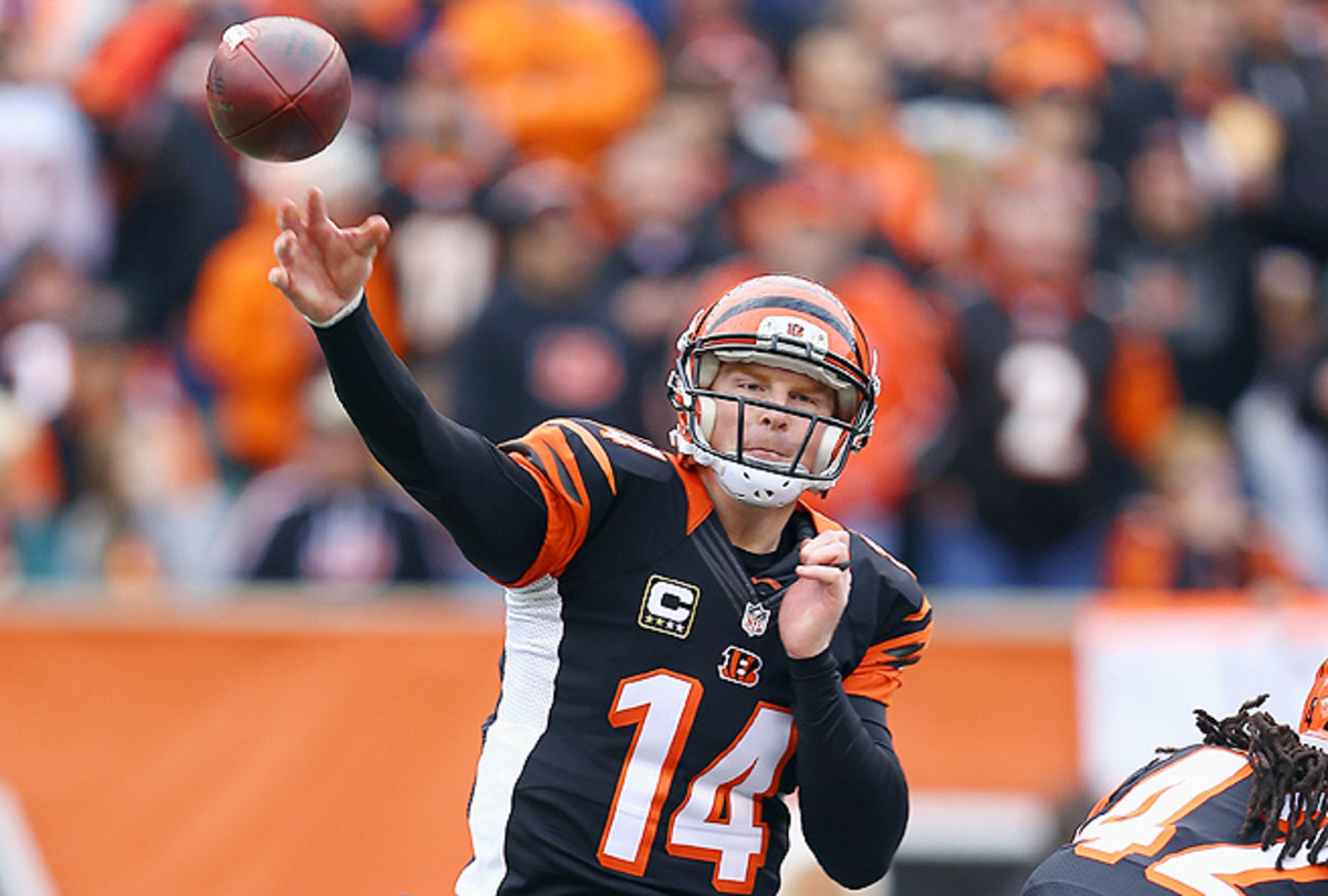 Andy Dalton wasn't consistent as a fantasy quarterback, but rewarded owners who took a risk on him.