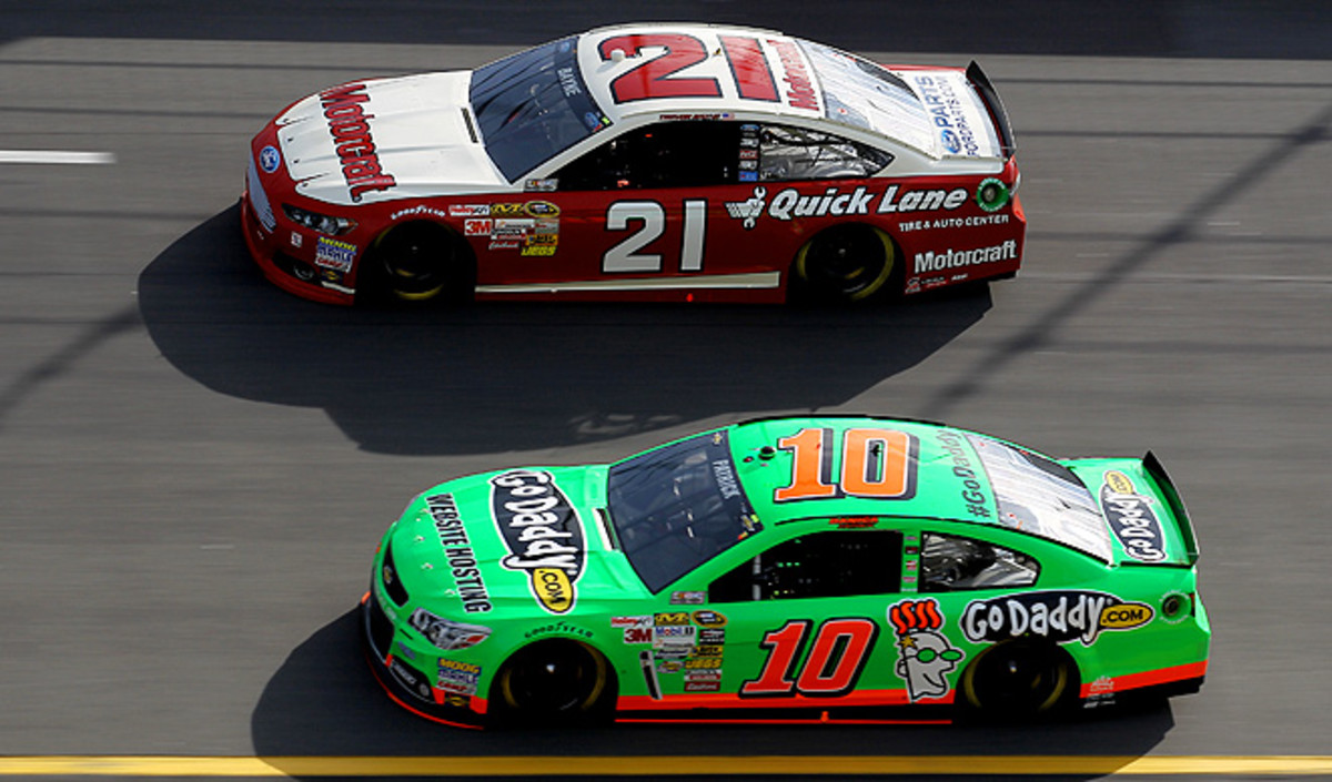 Danica Patrick played it safe in the Budweiser Duel in order to not wreck her car and lose the pole position.