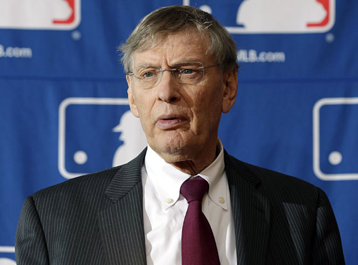 Bud Selig is scheduled to retire as commissioner of baseball in January 2015.