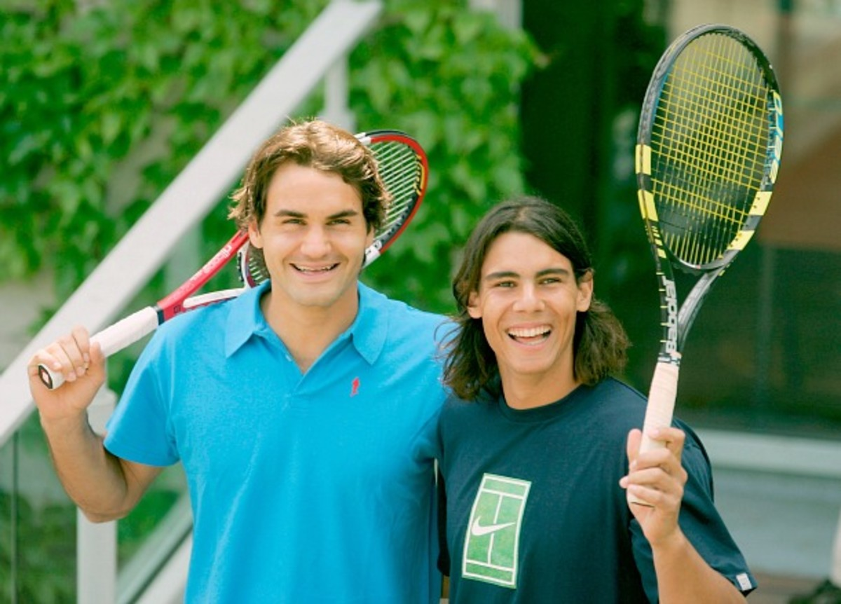 """""""Fedal"""" in 2005. (Clive Mason/Getty Images)"""