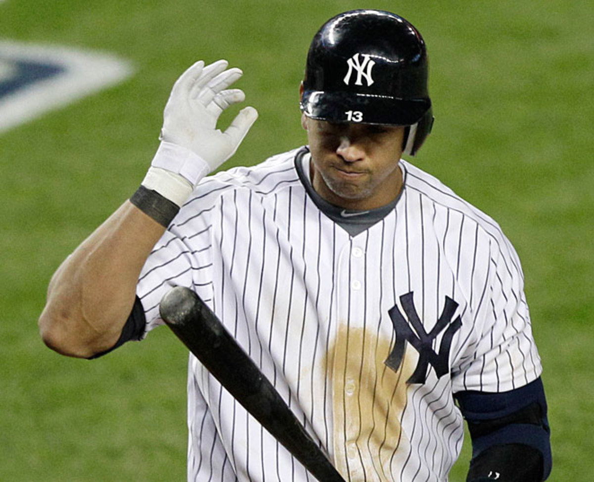 Alex Rodriguez had hip surgery and his expected recovery time was announced as six months.