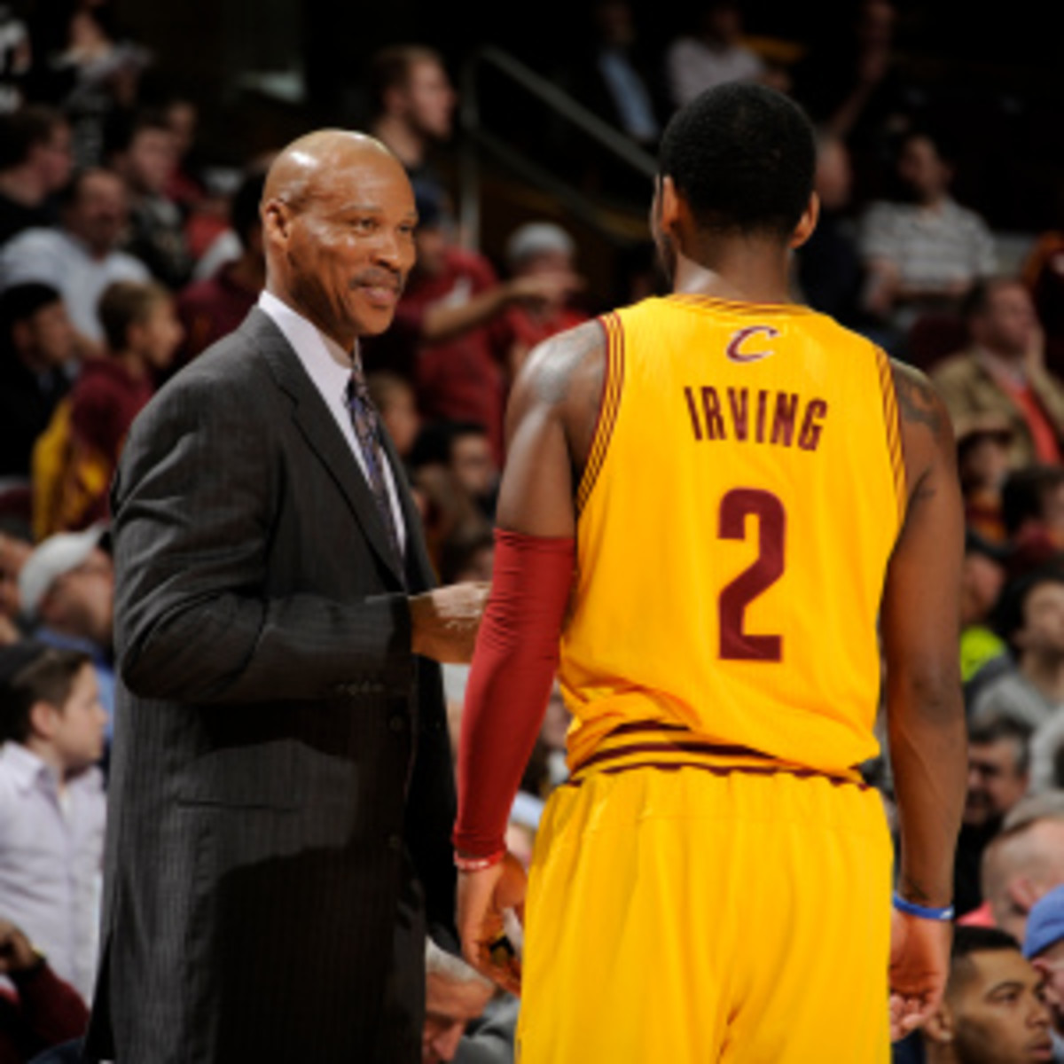 Byron Scott was fired Thursday as coach of the Cavaliers. (David Liam Kyle/Getty Images)
