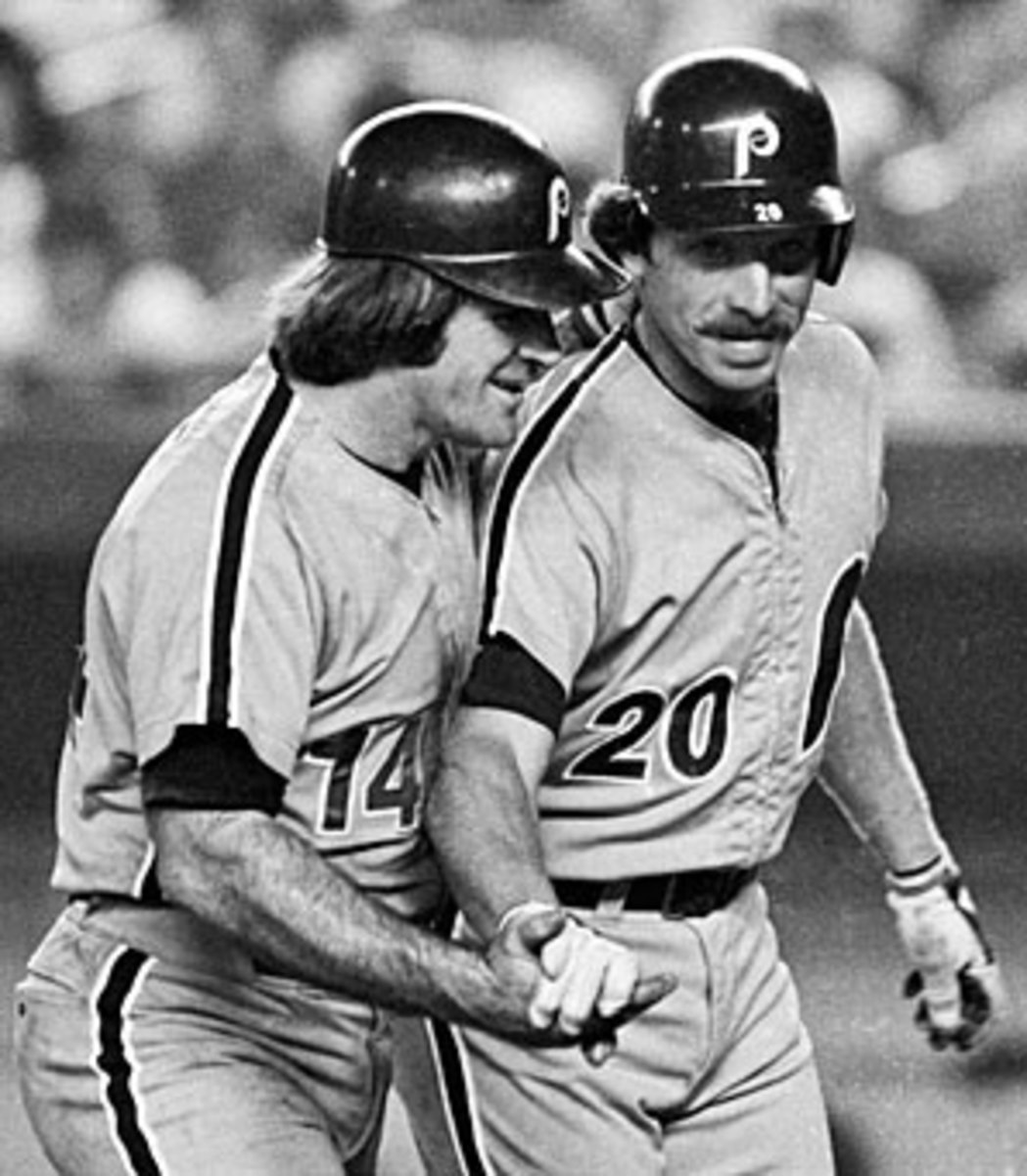 Pete Rose and Mike Schmidt