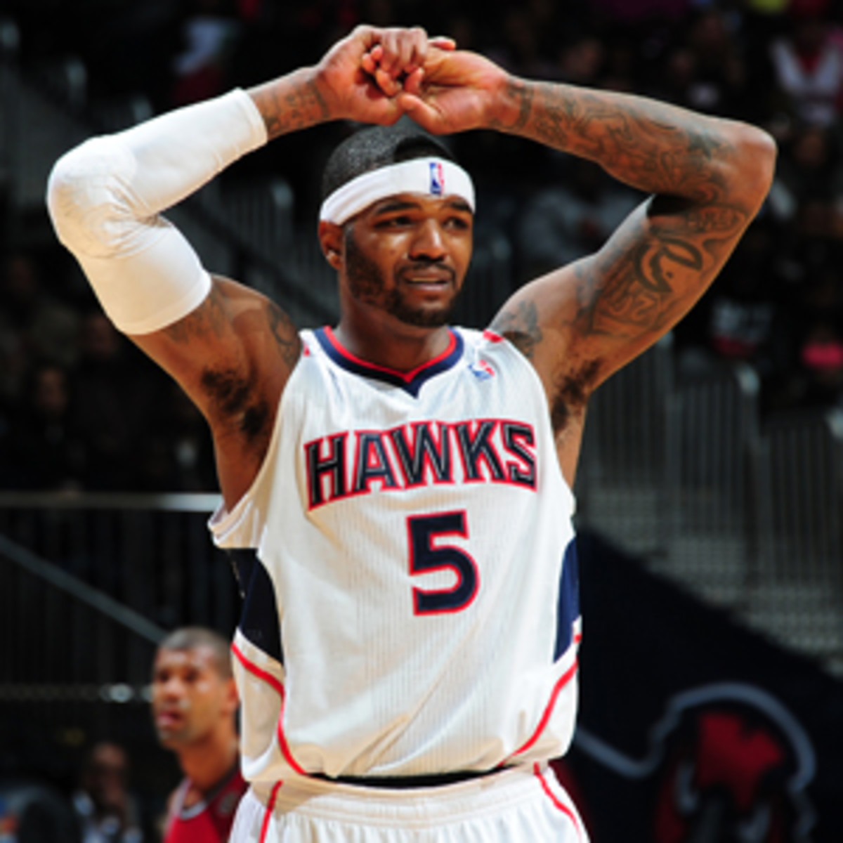 The Hawks reportedly nixed a last-minute trade of Josh Smith before he becomes a free agent. (Scott Cunningham/NBAE via Getty Images)