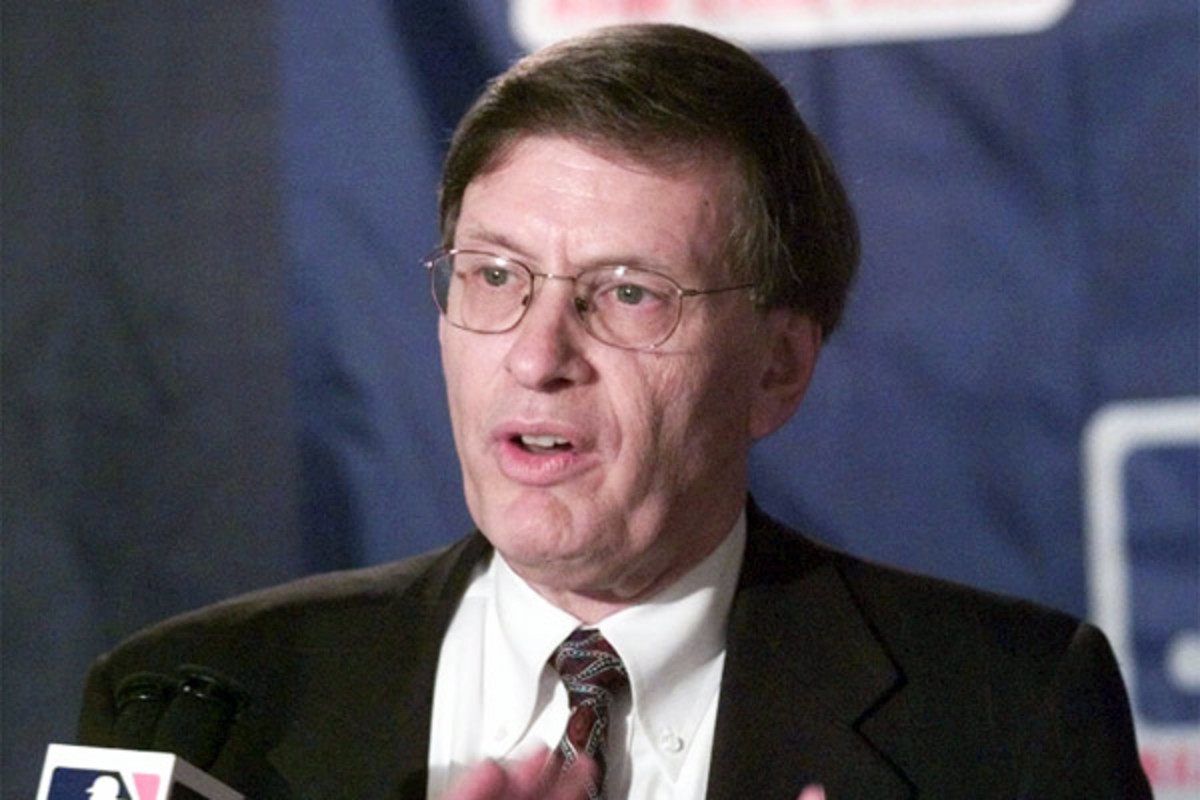 Having been acting commissioner since 1992, Bud Selig was officially elected to the role in 1998. (AP)