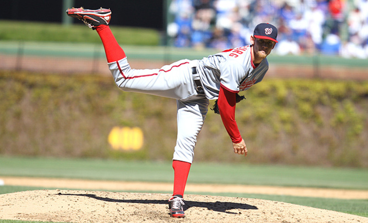 """Stephen Strasburg could post record strikeout totals if he's allowed to pitch """"without restriction."""""""