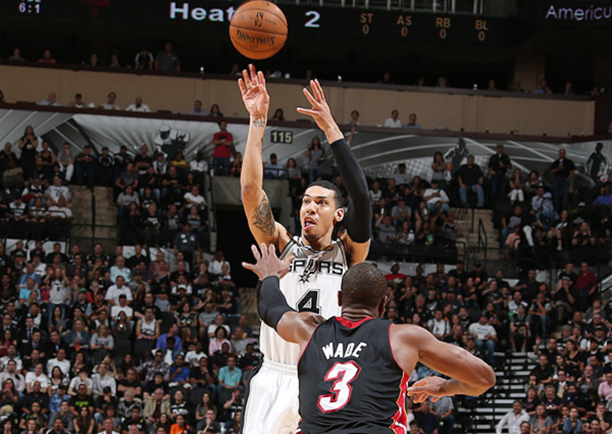 Danny Green set the record for most three-pointers in the NBA Finals