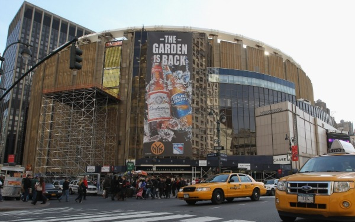 The ACC could play its tournament games at MSG in the near future.  (Bruce Bennett/Getty Images)