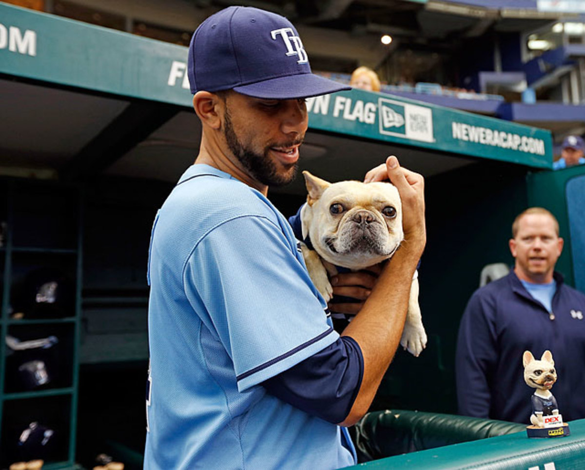 David Price and his dog Astro