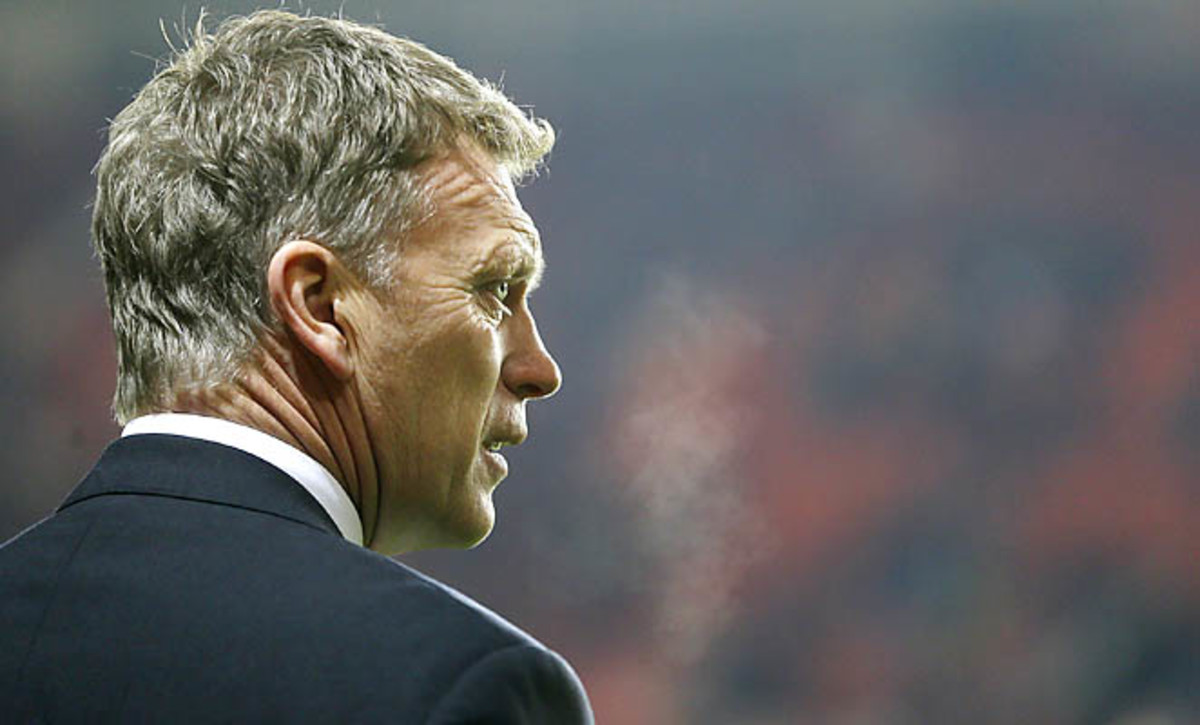 David Moyes and Everton are in sixth place in the Premier League standings.