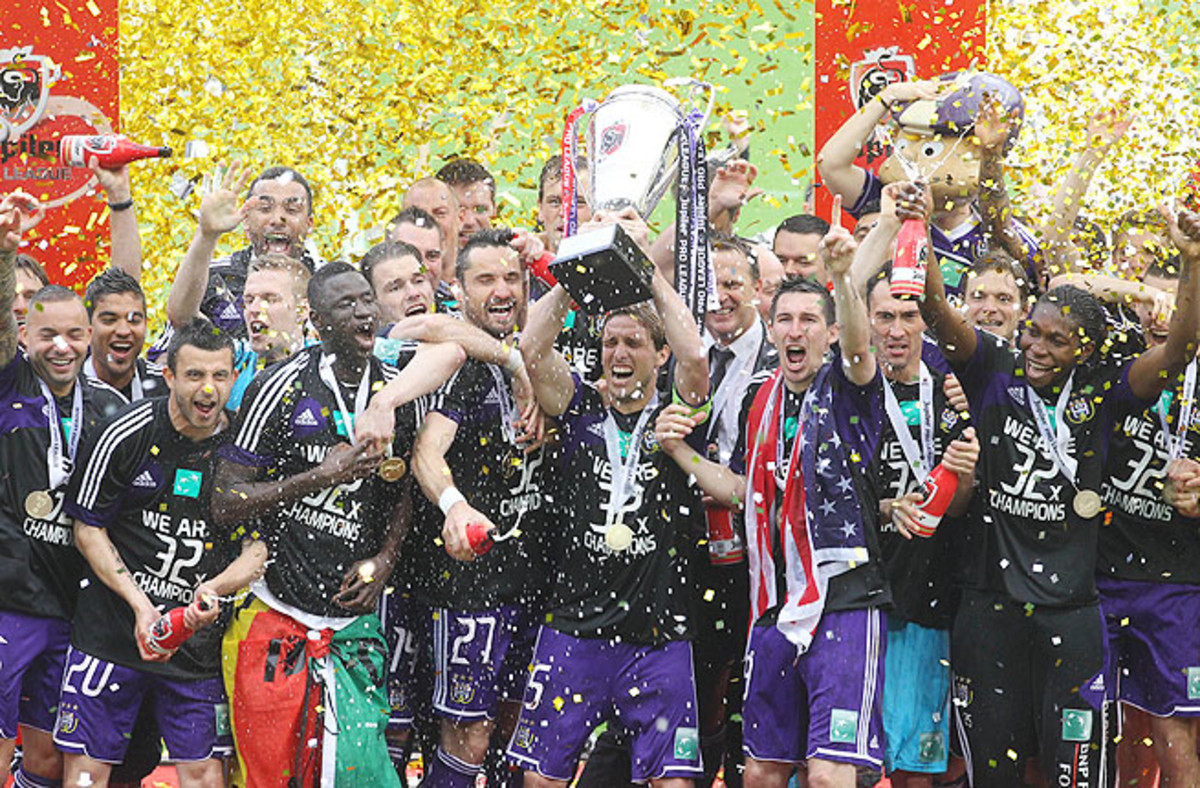 With the win, Anderlecht qualifies directly for the group stage of next season's UEFA Champions League