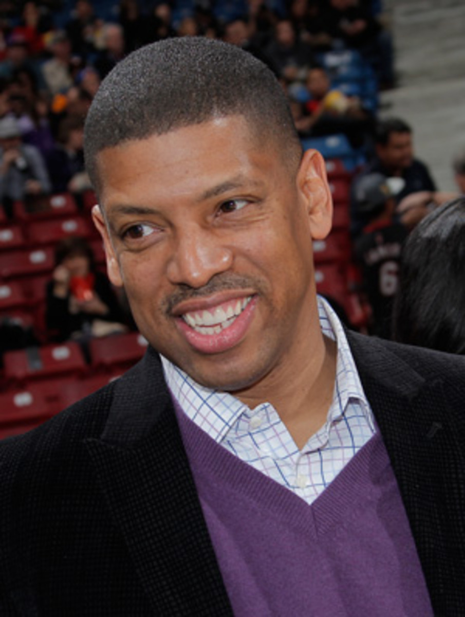 Sacramento Mayor Kevin Johnson is continuing the fight to keep the Kings even with the odds against him. (Rocky Widner/Getty Images)