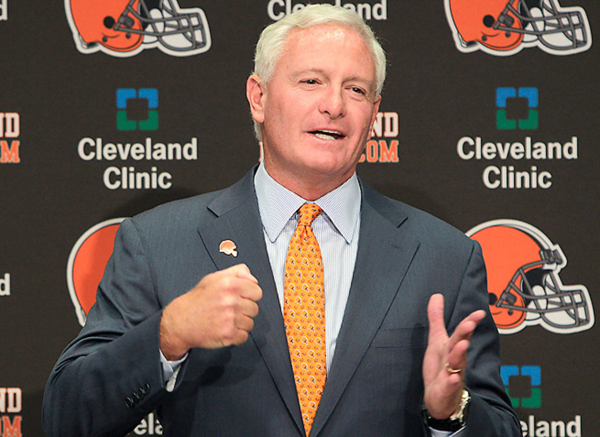 Jimmy Haslam bought the Browns from Randy Lerner for $1 billion last fall.