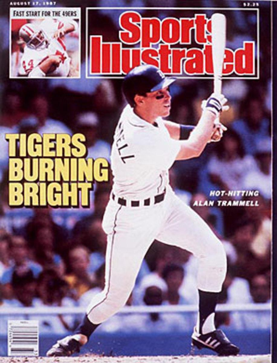 Alan Trammell, Tigers
