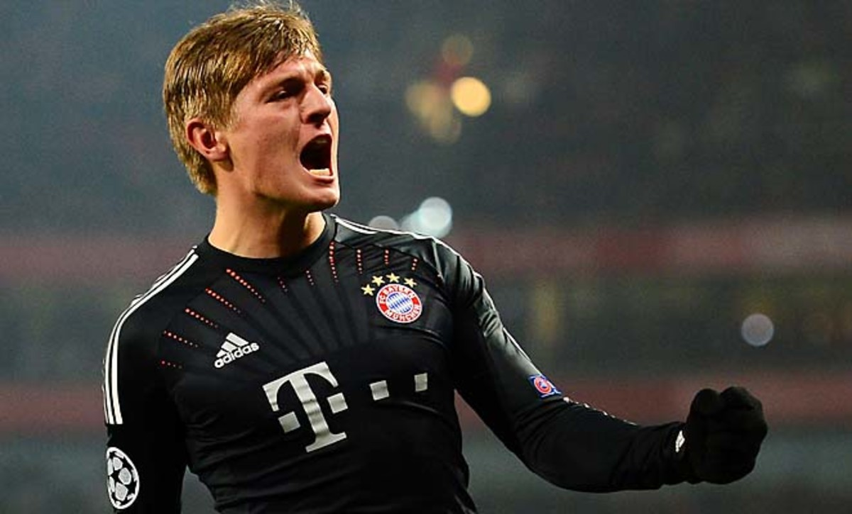 Toni Kroos and Bayern Munich head back to Allianz Arena next month with the advantage.