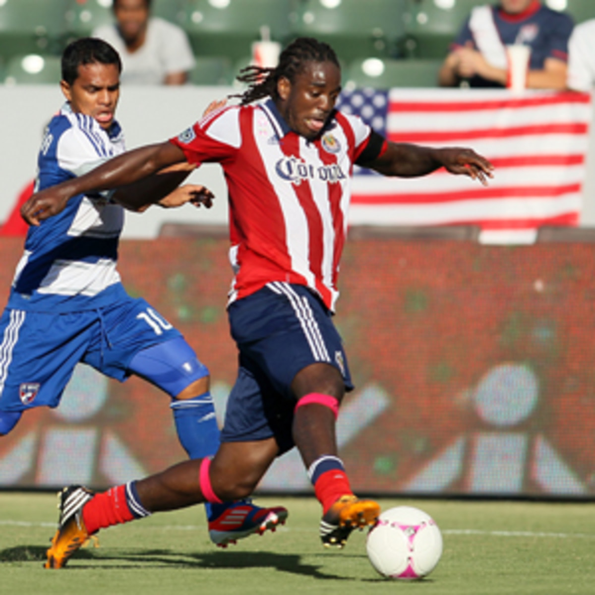Shalrie Joseph was the 14th overall pick of the 2002 MLS Super Draft. (Victor Decolongon/Getty Images)