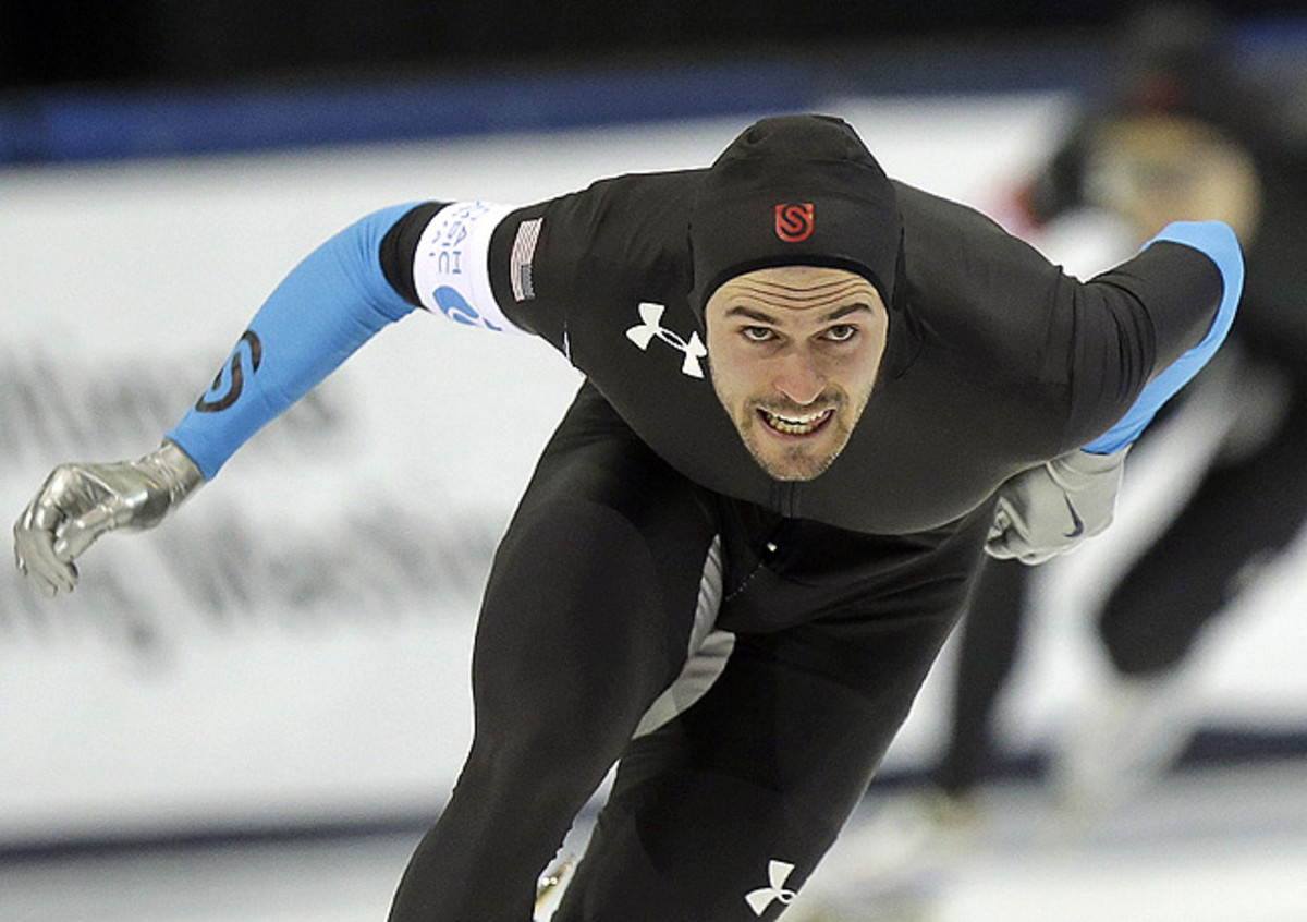 Mitchell Whitmore secured his place on the U.S. Olympic team with a first-place finish in the 500 meters.