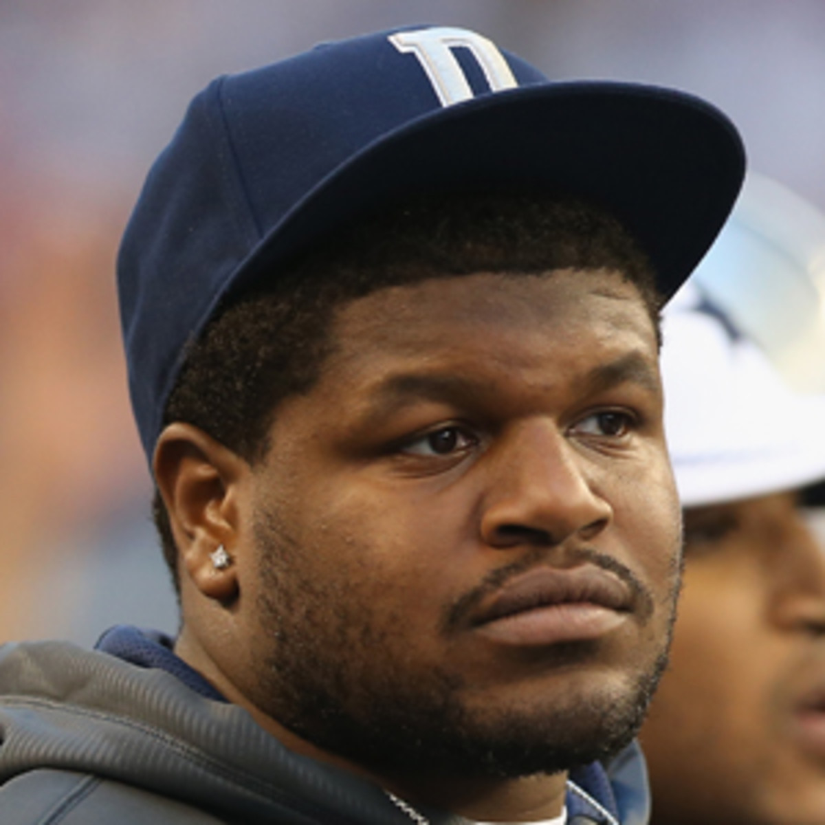 Josh Brent was charged with intoxication manslaughter in a crash that killed close friend Jerry Brown Jr. (Ronald Martinez/Getty Images)