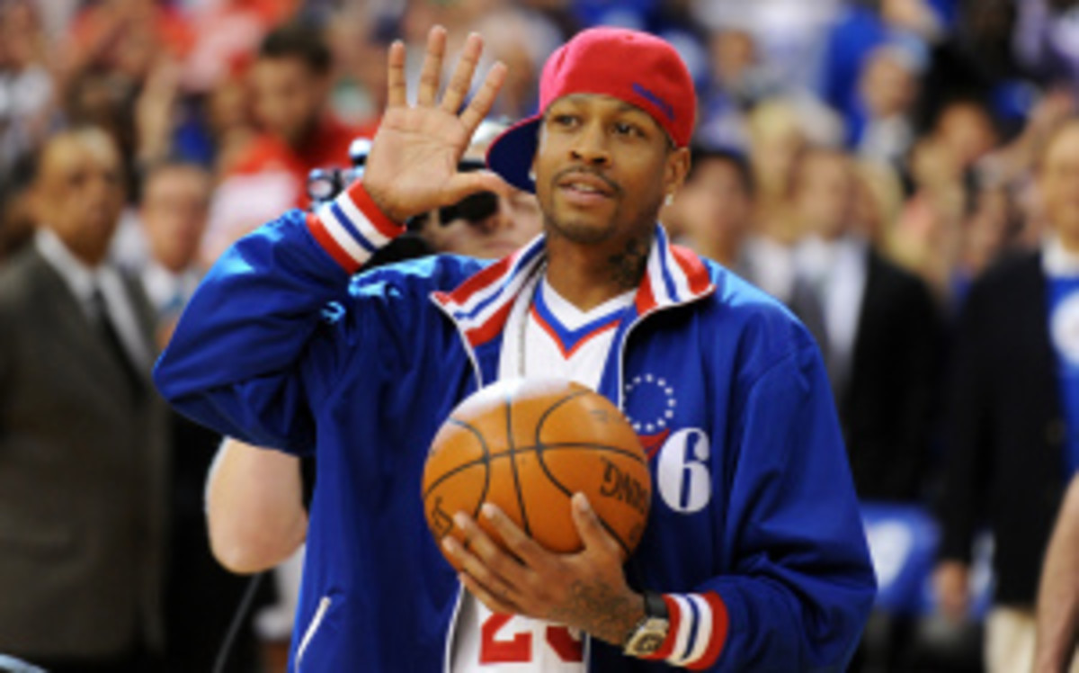Allen Iverson will reportedly announce his retirement in the coming days. (Drew Hallowell/Getty Images)