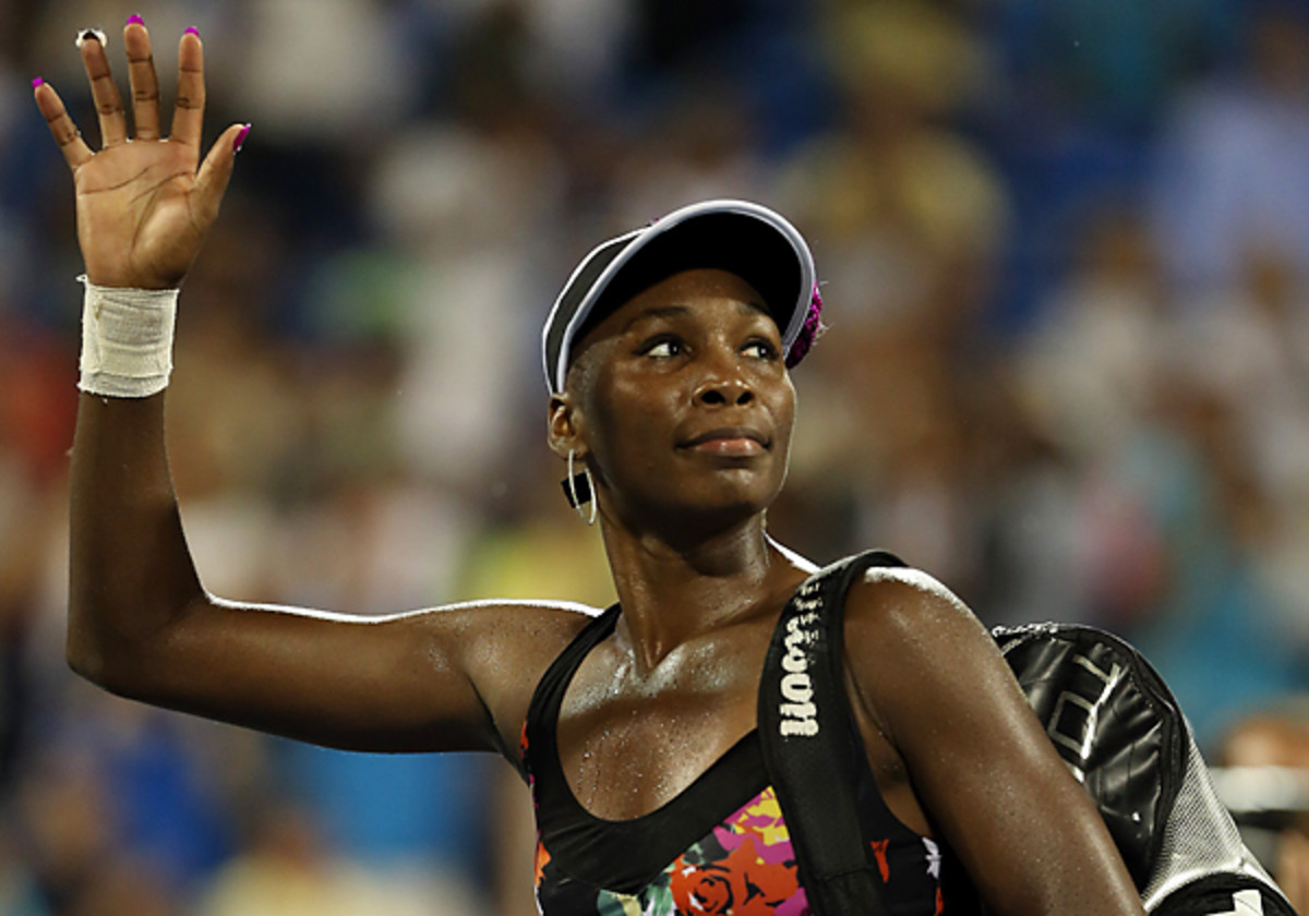 Venus Williams' loss to Zheng Jie marked the third straight U.S. Open in which she failed to reach the third round. (Matthew Stockman/Getty Images)