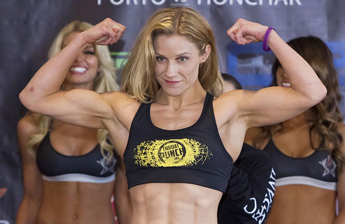 Barb Honchak got into MMA after going to her husband's Brazilian jiu-jitsu class at Steve Berger's gym.