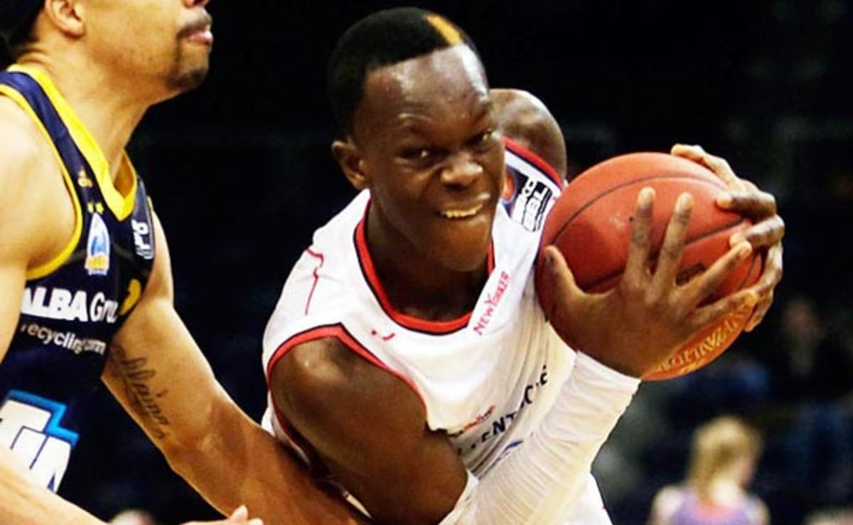 """He's so poised,"" an international scout said of Dennis Schroeder."