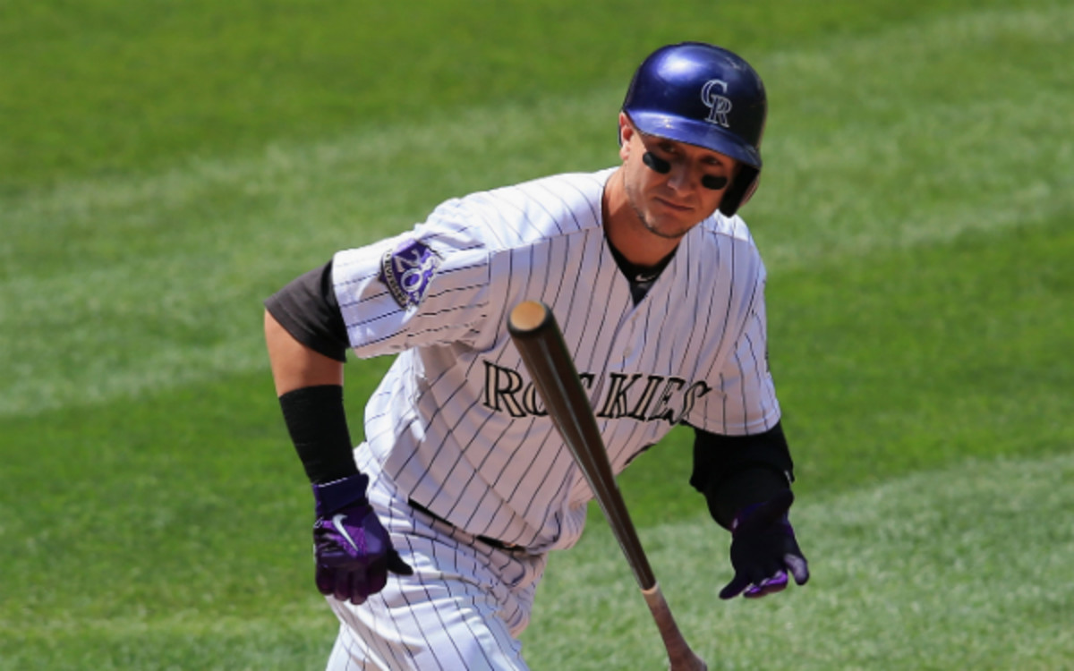 Troy Tulowitzki is a prime trade target of the Cardinals. (Doug Pensinger/Getty Images)