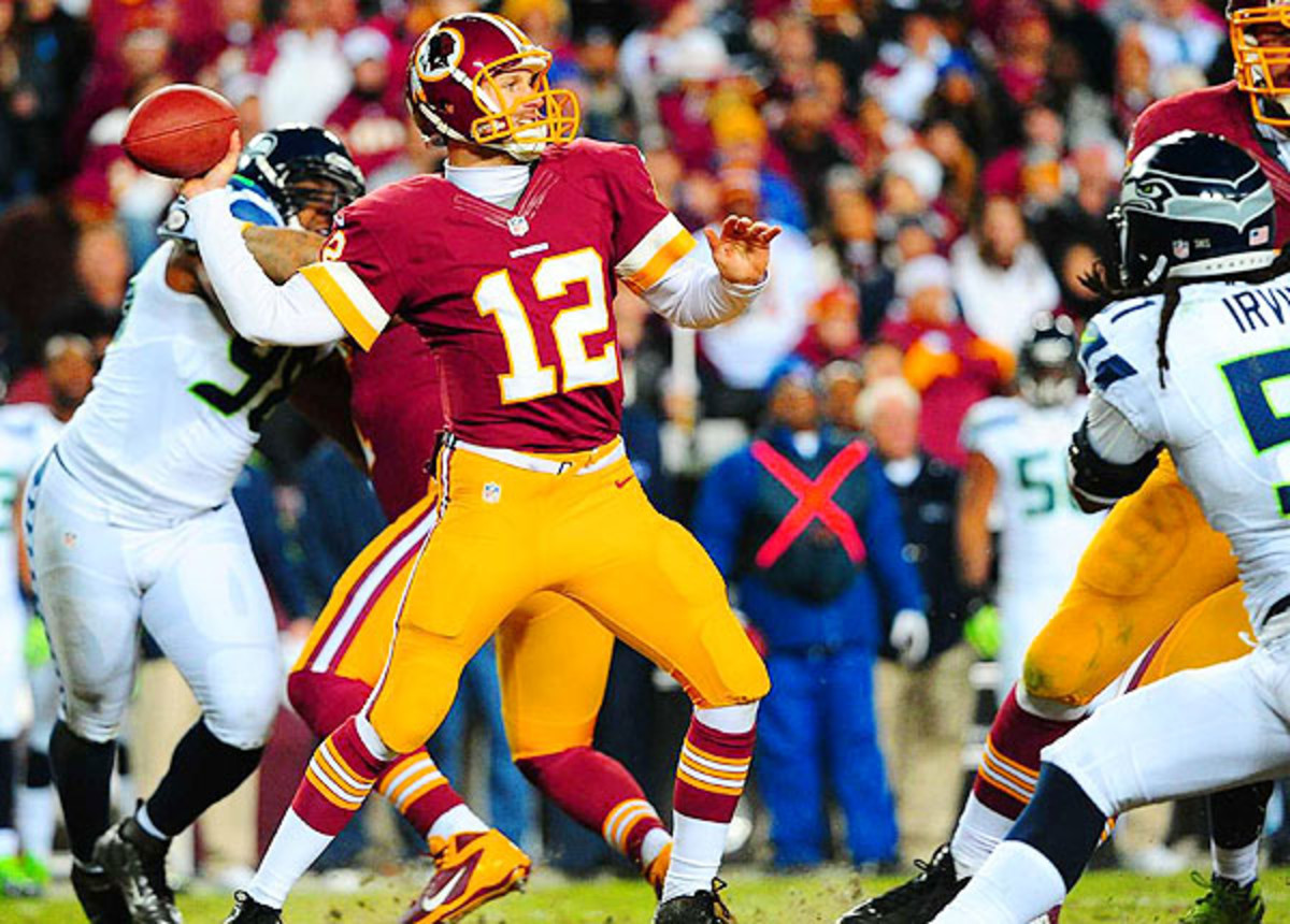 With Robert Griffin III coming an ACL injury, Kirk Cousins could start the season for the Redskins. ( Al Tielemans/SI)