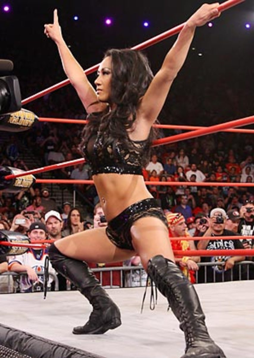 Gail Kim beat ODB at Bound for Glory on Oct. 20 to claim the TNA Women's Knockout World title.