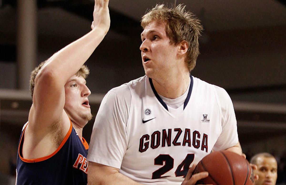 Gonzaga's Przemek Karnowski barely played his freshman year, but showed glimpses of being a centerpiece scorer.