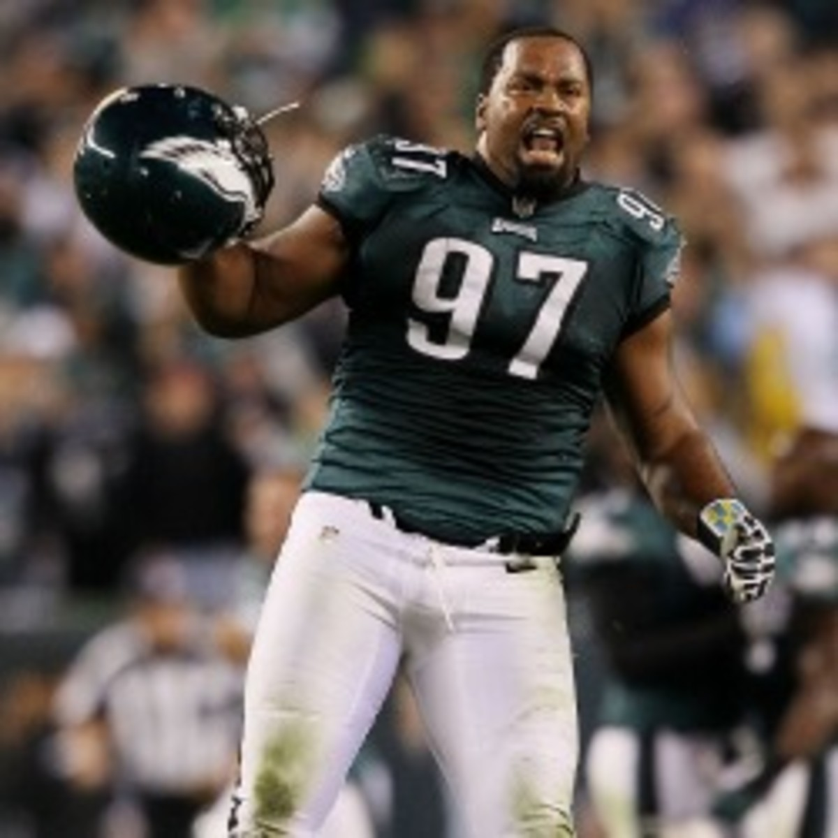 The Eagles released defensive tackle Cullen Jenkins after two seasons with the team. (Alex Trautwig/Getty Images)