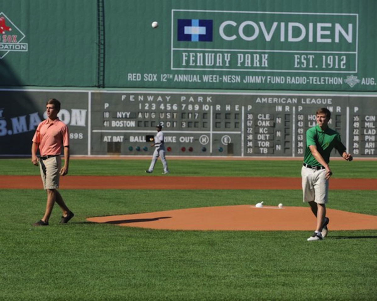 Courtesy Boston Red Sox