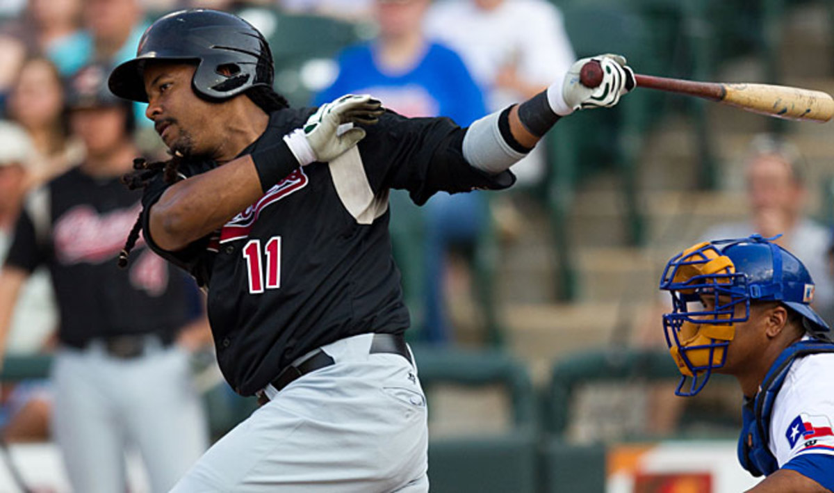 Manny Ramirez played in Oakland's system in 2012 but hasn't been in the majors since 2011 with Tampa Bay.