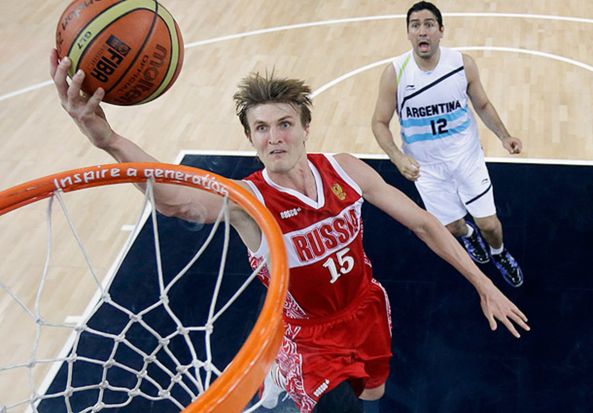 Andrei Kirilenko will not play for the Russian national team during the current Olympic cycle. (Eric Gay - IOPP Pool /Getty Images)