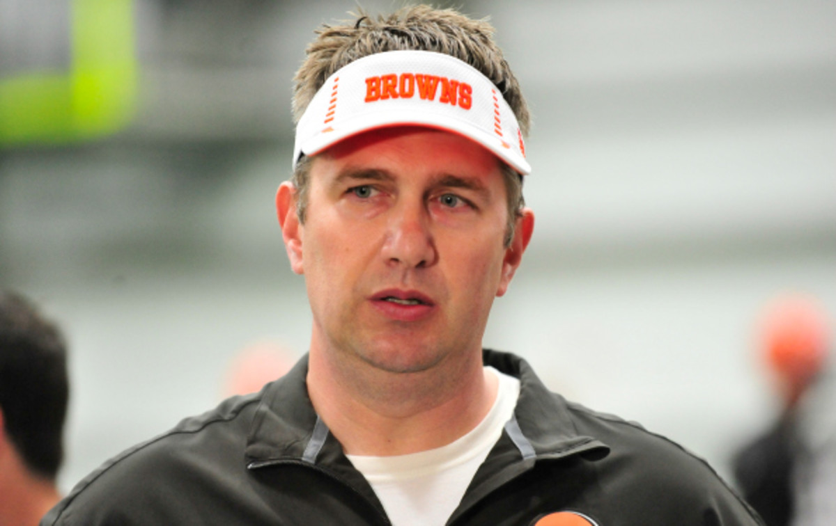 Rob Chudzinski coached the Browns to a 4-12 record in his one season with the Browns. (Diamond Images)
