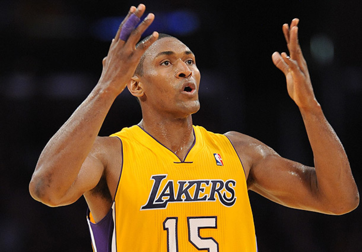 Metta World Peace is apparently a poet