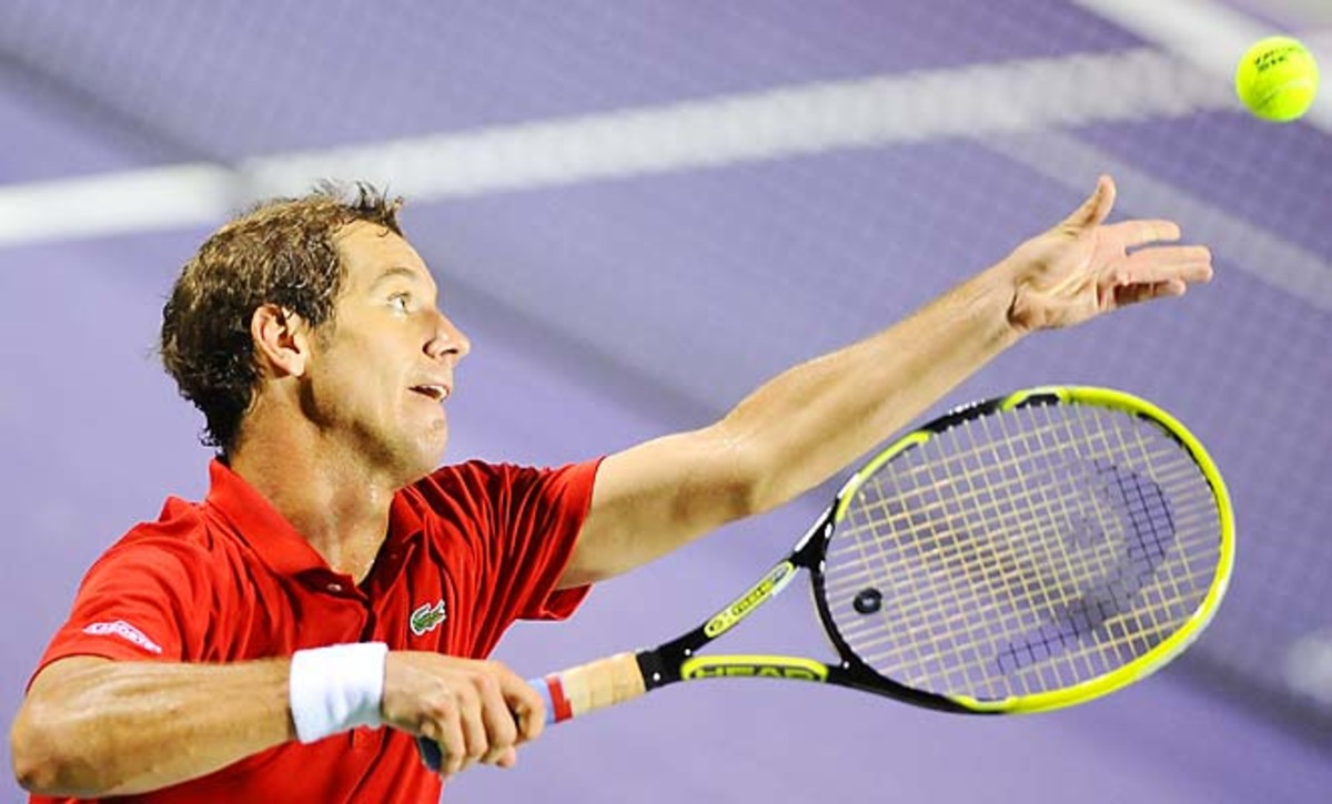 Richard Gasquet lost in the semifinals of last week's Sony Open to Andy Murray.