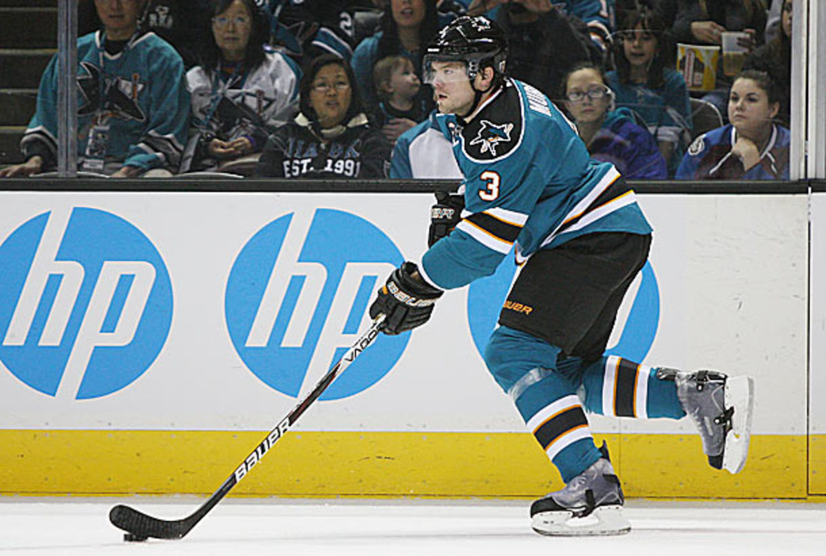 Douglas Murray to the Sharks was traded to the Penguins.