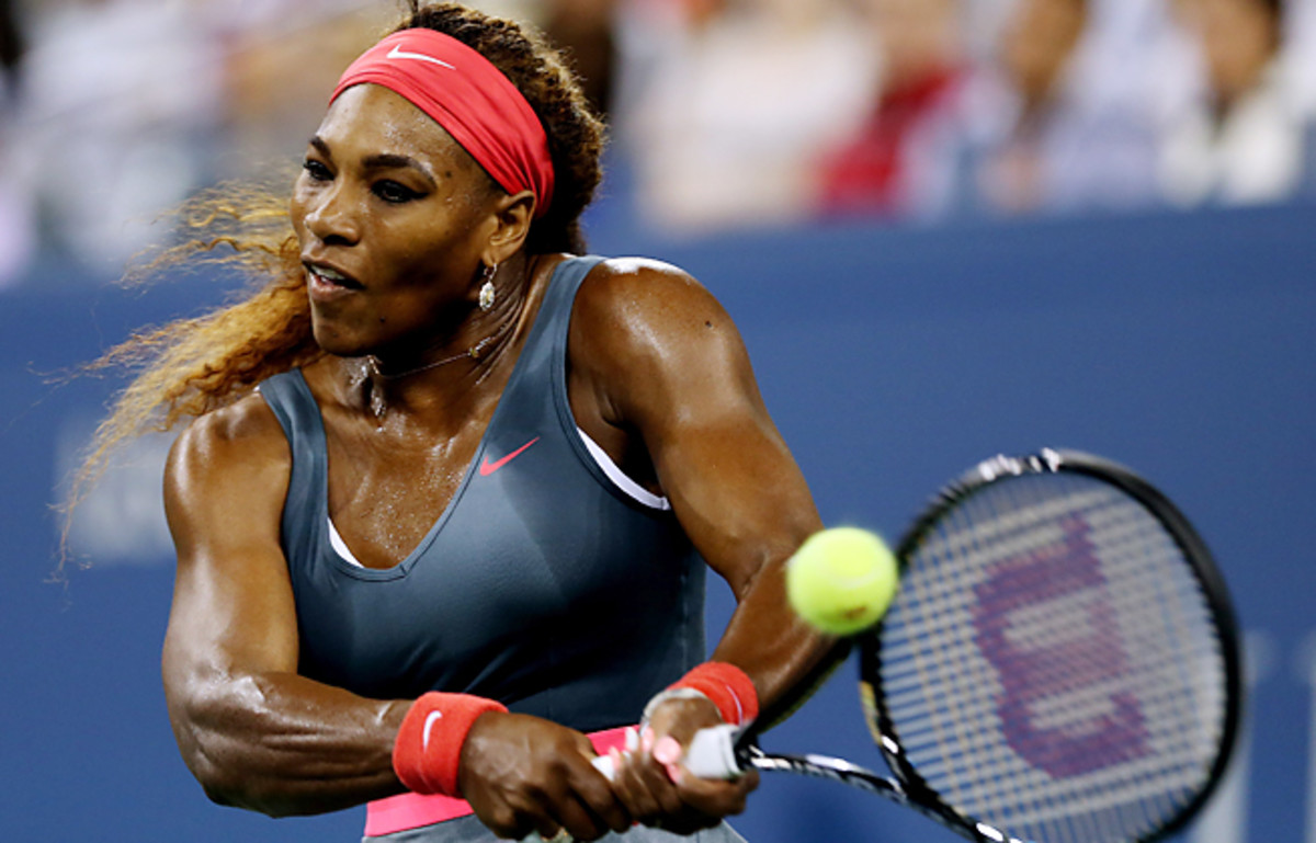 Serena Williams lost a single game to Francesca Schiavone in a straight sets win at the U.S. Open.
