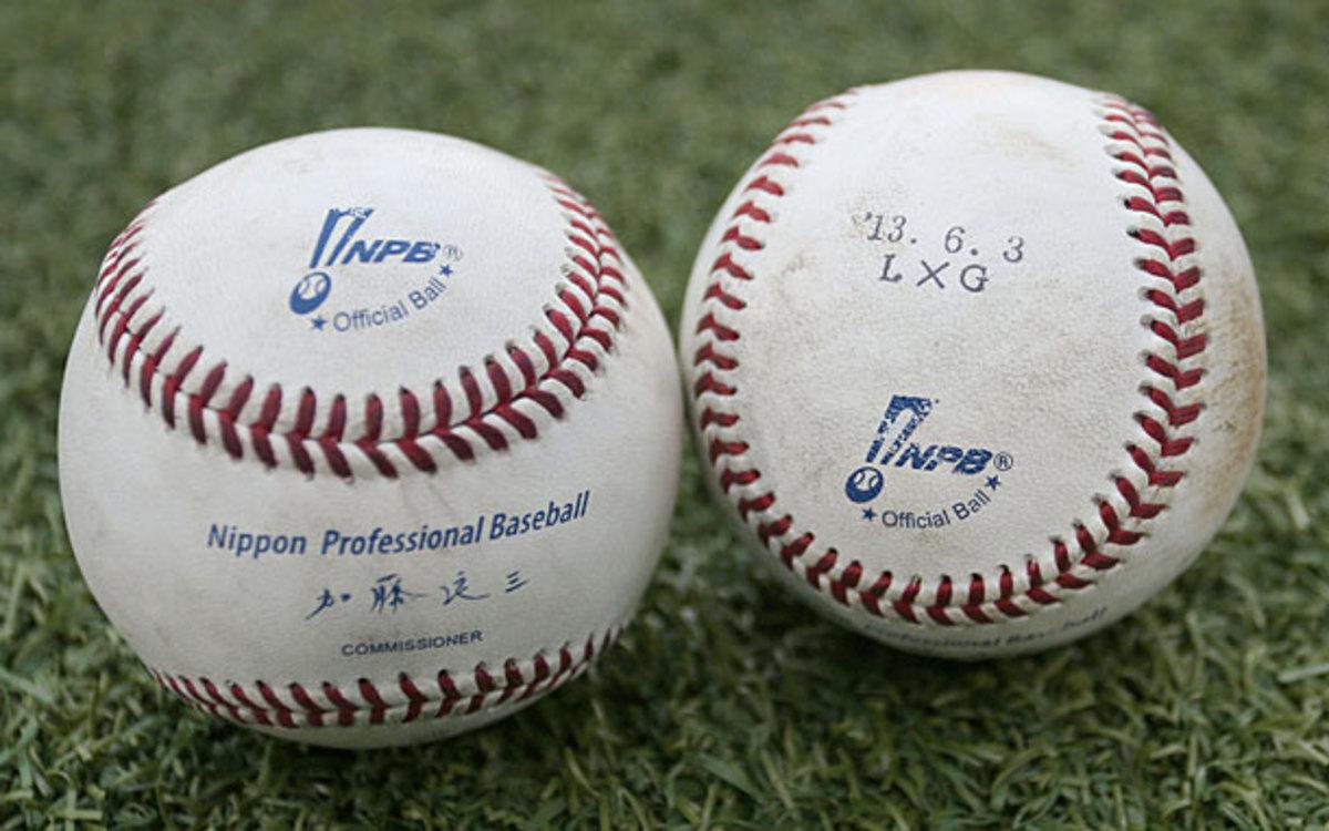 Japan, baseballs