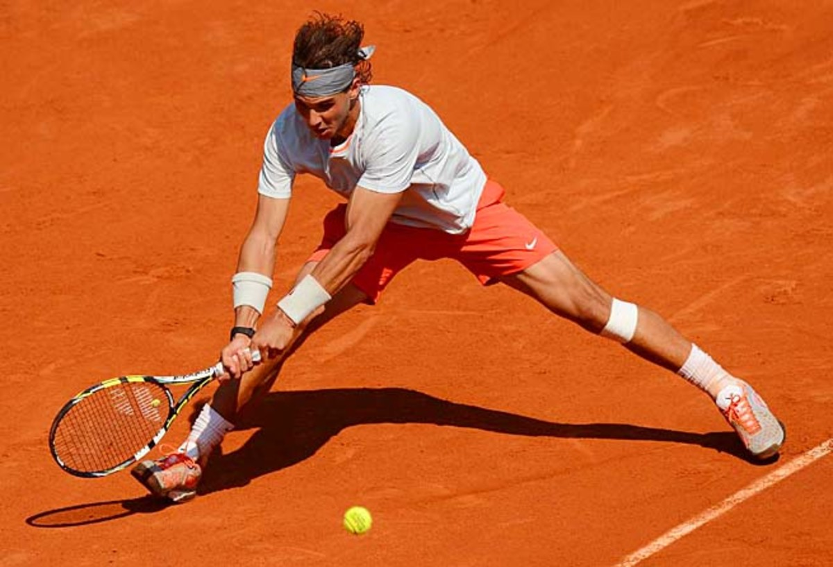Rafael Nadal has lost once at Roland Garros in nine appearances, to Robin Soderling in 2009.