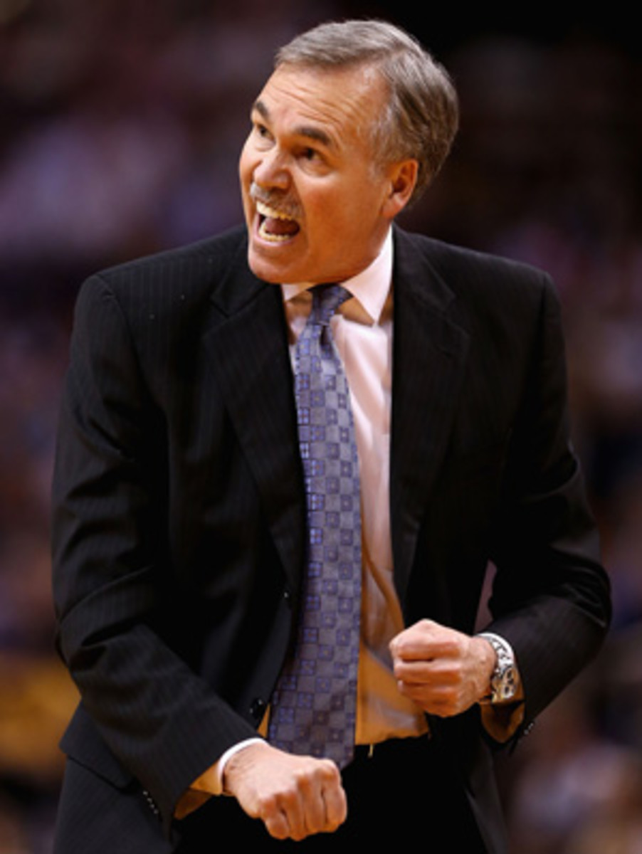 Mike D'Antoni ripped the Lakers after a loss to the Wizards. (Christian Petersen/Getty Images)