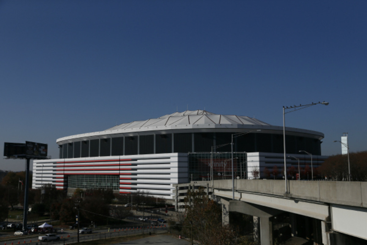 The Atlanta Falcons received $200 million in NFL G-4 financing for a new stadium to replace the Georgia Dome. (Kevin C. Cox/Getty Images)