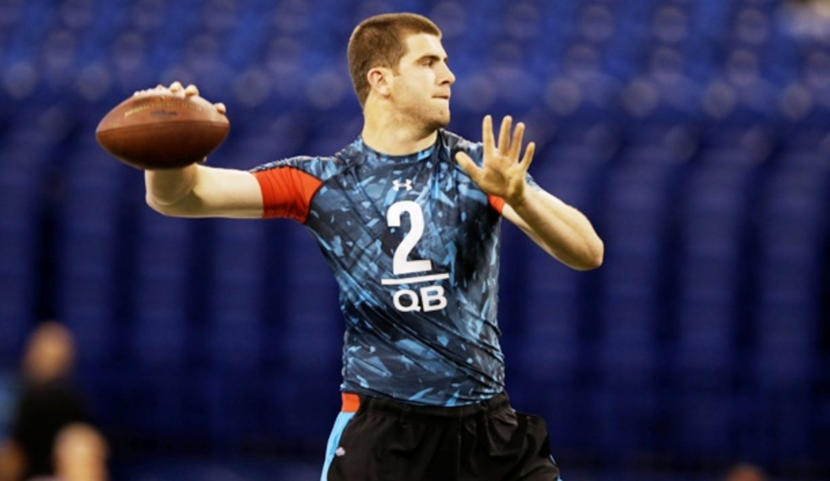 Tyler Bray could see his draft stock soar after a strong showing at the combine. (Michael Conroy/AP)