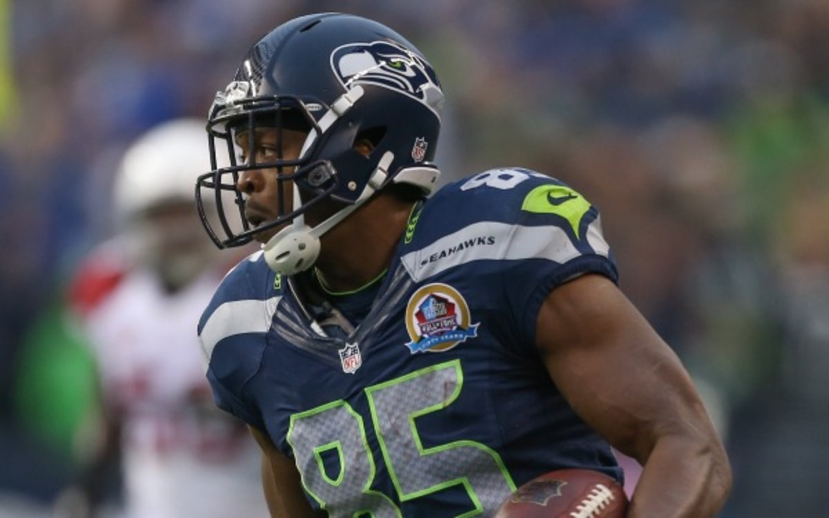 Seattle Seahawks tight end Anthony McCoy will miss part of the season with a torn Achilles. (Otto Greule Jr/Getty Images)