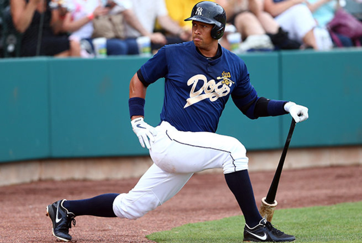 Alex Rodriguez is hoping to rejoin the Yankees on Monday for their series in Texas.