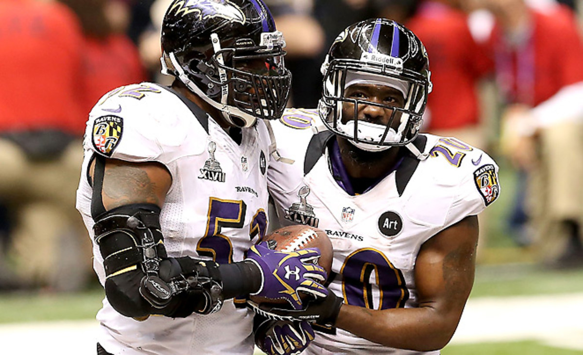 The Ravens will defend their Super Bowl championship without Ray Lewis and Ed Reed.