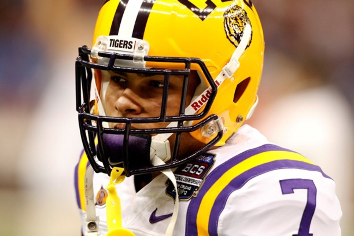 """Tyrann Mathieu -- aka """"Honey Badger"""" -- could give his draft stock a huge boost with a strong showing at the combine. (Cal Sport Media via AP Images)"""
