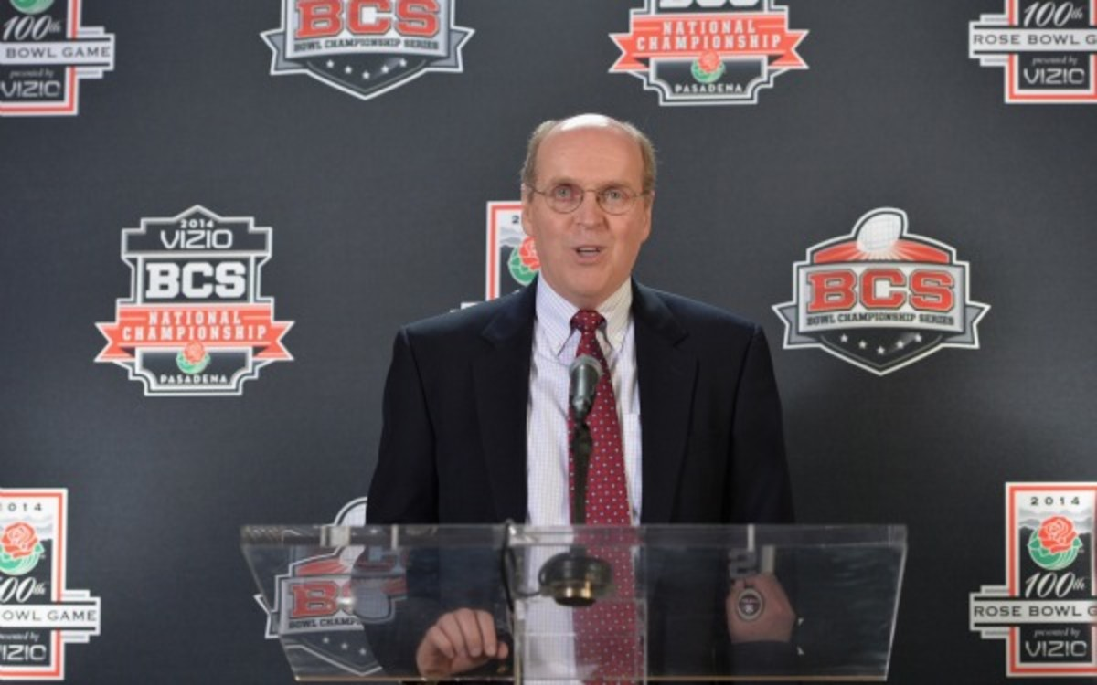 The BCS will be replaced by the College Football Playoff in 2014. (Alberto E. Rodriguez/Getty Images)