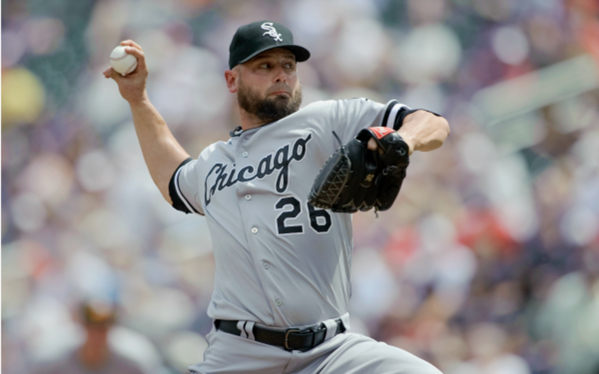 White Sox reliever Jesse Crain was traded to the Tampa Bay Rays. (Hannah Foslien
